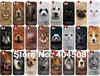 new arrival cute lion dog cat pig leopard tiger panda wolf plastic hard back shell for iphone 4 4S animal cell phone case