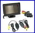 4.3 Inch TFT LCD Car View Monitor+wireless Car Rear Camera View Reversing Backup camera