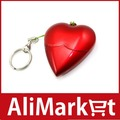 8GB Heart-shaped USB Flash Drive (Red)