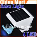 Solar Power 4LED Outdoor light corridor wall lamp