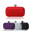 NEW Design Women candy color Wove evening clutch bags, Fashion Shoulder bag, Party bags, Day clutches/shoulder bags,XP73
