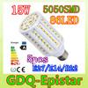 Free shipping 5pcs 15W E14 E27 B22 86LED 5050 SMD110V/220V Corn Bulb Light Maize Lamp LED Light Bulb Lighting White/Warm White