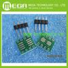Free Shipping 20PCS/LOT SOP8 turn DIP8 / SOIC8 to DIP8 IC adapter Socket PB FREE with Pin Header