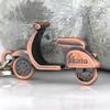 M82503 Funny 3D Scooter Model Copper Motorcycle Motor Bike Key Chain Ring Keychain Keyring Keyfob