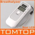 Promotion!!! 5pcs/lot, LCD Digital Alcohol Breath Tester Analyzer Breathalyzer,Freeshipping Dropshipping wholesale