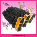 Mix Length Peruvian Hair, Deep Wave, Virgin Remy Hair, Hair Extension, Grade 5A,3Bundle/lot, DHL Free Shipping