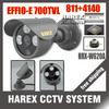 "1/3"" Sony Effio-e 700TVL 960H 3pcs Array IR LEDS outdoor/indoor waterproof Security CCTV Camera with bracket. Free shipping"