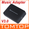 Wireless Bluetooth V3.0 Music Receiver Hifi Stereo Audio System Music Adapter For iPhone iPad Cellphone Notebook