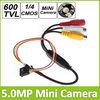 "1/4"" 600TVL CMOS Sensor 5.0MP HD Mini CCTV Camera For Home Security Surveillance Support Video/ Audio Output"