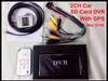2CH D1 Mini Car Video Recorder Car/Bus Mobile DVR CCTV Built In GPS MINI Mobile Car Video Recorder H.264 Black In Stock