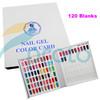 Brand New Nail Polish Color Book Nail Display UV Gel Color Chart Card Nail Book Tool Tech Nail Art Dropshipping Retail SKU:F0192