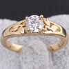 classic hollowed-out design high quality finger ring for women KUNIU J07008