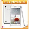 P760 Original Phone Unlocked LG Optimus L9 P760 mobile phone Android 4.0 RAM 1GB ROM 4GB 5MP Camera Phone One Year Warranty