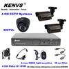 Home 900TVL 4CH CCTV Security Camera System 4CH DVR 900TVL Outdoor Day Night IR Camera DIY Kit Color Video Surveillance System