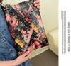 Wholesale 6Pcs/Lot Fashion Women's Painting Handbag Rivet Clutch Bag Envelope Bag Vintage Shoulder Bag 18494