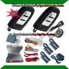 promotional car alarm system,smart key remote,passive lock or unlock,engine remote start,ignition button start,keyless entry