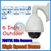 6'' Outdoor weatherproof 700TVL Sony Effio CCD 36x Optical Zoom CCTV High Speed Dome Camera PTZ Camera