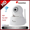 Free Shipping1/4''1.0MP P2P Wifi Househould Camera Wireless with 3.6mm Fixed Lens H.264 IR View Distance 10m Support Android App