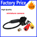 """Subminiature Super Mini 1/3"""" Color CMOS 3.6mm Lens Security Indoor Video Audio Mic Monochrome Color Camera Wired CMOS For FPV203"""