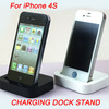 CHARGING DOCK STAND DOCKING STATION CHARGING STATION+CHARGER CABLE FOR APPLE IPHONE 4/ iphone 4s /ipone 4g Black/white