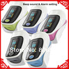 High Quality!!! **FDA CE Fingertip Pulse Oximeter Oxymeter SPO2 Oxygen Monitor OLED Display Sound health care