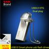 New arrival SSK mobile phone usb flash drive 100% 32GB usb3.0 high speed double plug OTG mobile phone usb flash drive 100% 16GB