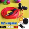 3.5mm Brand Zero Earphone For MP3 Iphone Mobile Phone With 6 Earbuds In Storage Case