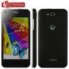 "WCDMA 3G Original JIAYU F1 android mobile phone MTK6572 Dual Core 512MB RAM 4GB ROM 5MP 4"" 800*480 TFT 2400MAh metal frame"