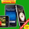 "Free shipping Original Iphone 3GS mobile phone 32GB Version 3.5"" Screen 3G wifi GPS 32GB ROM iOS3 Ip3GS Used Unlocked"