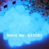 100pcs Sky-Blue Glow in the Dark Fluorescent Pebbles Stones Garden Walkway Parterre Decor