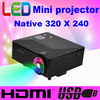 By HK POST ATCO CT1018 100lumens with HDMI Mini Micro AV LED Digital Video Game pico Projectors Multimedia proyector player