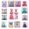 RQ0037 Free Shipping 2014 New Children's Dresses Baby Girls Dress cartoon designer Minnie Mouse Icecream Dress For Kids Retail