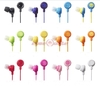 Free Shipping Lose Money Promotion 8 Colors Fruit Smile Earphone In Ear Headphones Earphones