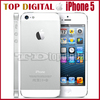 Shopping Festival Original Unlocked Apple iPhone 5 iOS 6 Dual Core 16GB/32GB 8MP Camera 4.0 inches WIFI GPS 3G Cell Phone