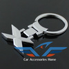 Free shipping 2014 new car styling decoration accessories car emblem keychain/auto Key Rings for BMW X Series