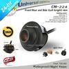 In Stock Wholesale 8 Pcs/Lot HD CCD 360 Degree Rotation Universal Car Parking Reversing Camera Waterproof Night Vision Black