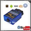 2014 Mini OBD 2 ELM327 Bluetooth Software V2.1 Scanner OBDII Diagnostic For Android Torque Scanner Free Shipping