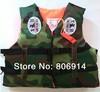 Free Shipping quality kid / child camouflage waterproof beach vest swimming vest life jacket life vest lifejacket boating vest