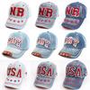 9 Colors 2014 New Unisex Letter Kids Children Hiphop Snapback Adjustable Baseball Caps Hats For Boys&girls