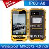 "Free shipping Alps A8 MTK6572 4.0"" Dustproof smartphone IP68 Shockproof Waterproof Dual SIM 3G GPS Outdoor phoneRussian/Avil"