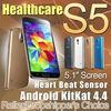 "Healthcare MTK6582 quad core phone 16MP Camera S5 PHONE I9600 phone smart phone 5.1"" 1GB Ram G900 Fingerprint AIR GESTURE"