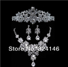 New Arrival luxurious crystal bridal jewelry set High quality wedding jewelry wholesale