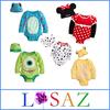 2 Pieces Set ( Cap + Romper ) Summer Cartoon Cotton Baby Girls Clothing Set Newborn Baby Boy Set Kids Clothes Sets Baby Clothing