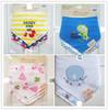 Free shipping 3pc/lot 100% cotton baby boys and girls bibs baby towel bandanas chiscarf ldren cravat infant towel