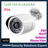 720P Outdoor Mini IP Camera IP66 Waterproof,HD CCTV Camera,onvif hd ip camera,4mm lens with 20 meters night vision,Mobile View