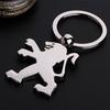 Free Shipping 3D car logo key chain for Peugeot car emblems High Quality Key Fob car key rings Fashion Jewelry Metal Keychain