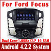 100% Android 4.2.2 PC Car DVD Player for Ford Focus 2012 C-Max w/ GPS Navigation Radio BT USB AUX DVR OBD 3G WIFI Stereo SatNav
