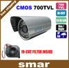 Promotional Stock!! CCTV 700TVL CMOS 24IR Night Vision Outdoor Waterproof Camera with ICR filter Free Shipping