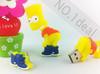 New Gift cartoon USB pen drive Flash Drive 8GB 16GB 32GB USB Flash Drive USB disk Free shipping
