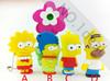Cartoon simpson USB disk 4GB 8GB 16GB 32GB USB Flash Drive pen drive Free shipping
